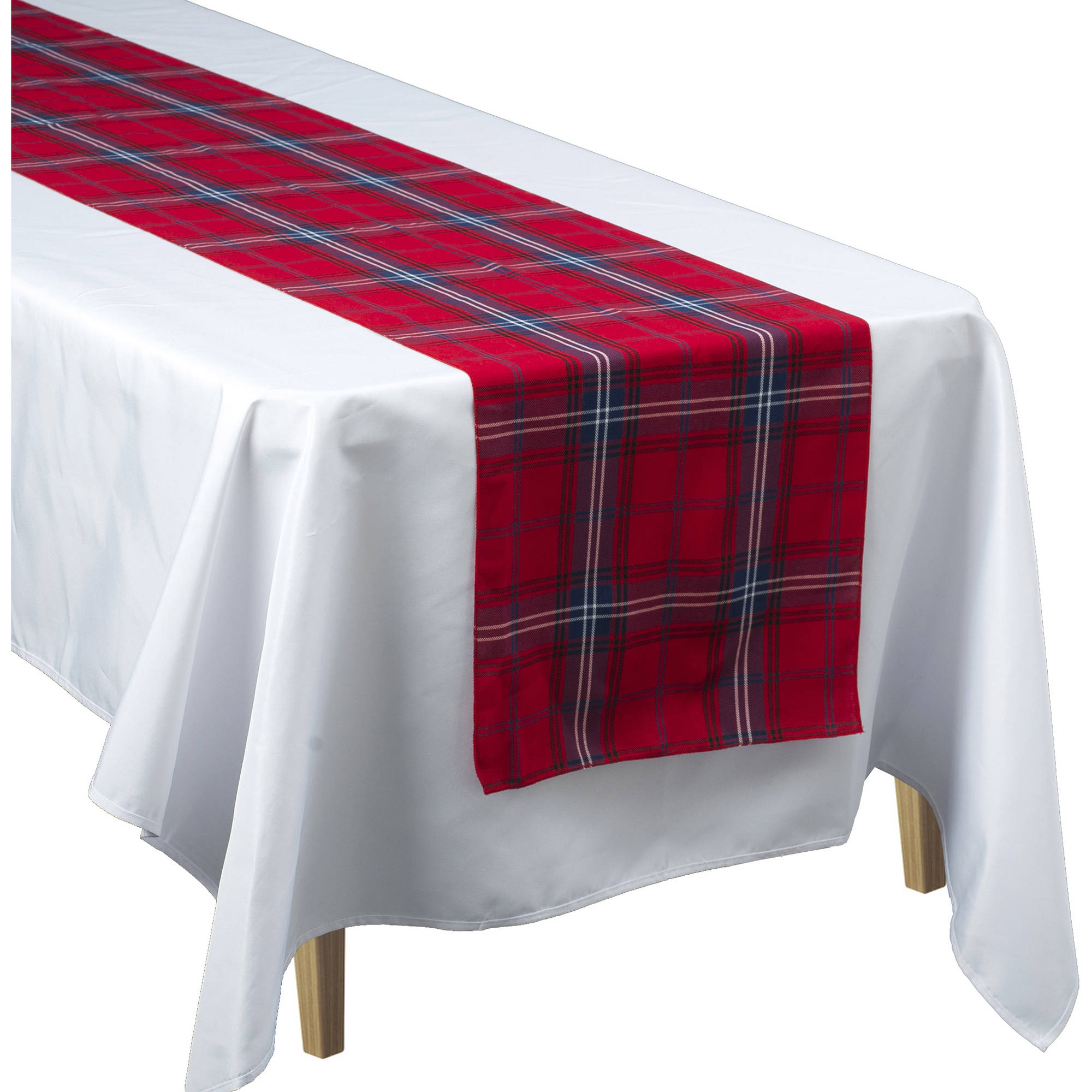 Tartan Plaid Table Runner