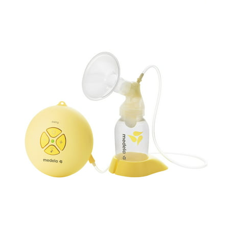 Medela - Swing Breastpump Wbonus 30 Count Nursing Pads Bundle