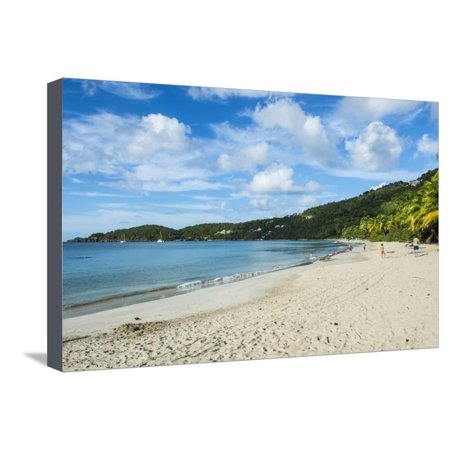 Brewers Bay, Tortola, British Virgin Islands, West Indies, Caribbean, Central America Stretched Canvas Print Wall Art By Michael -