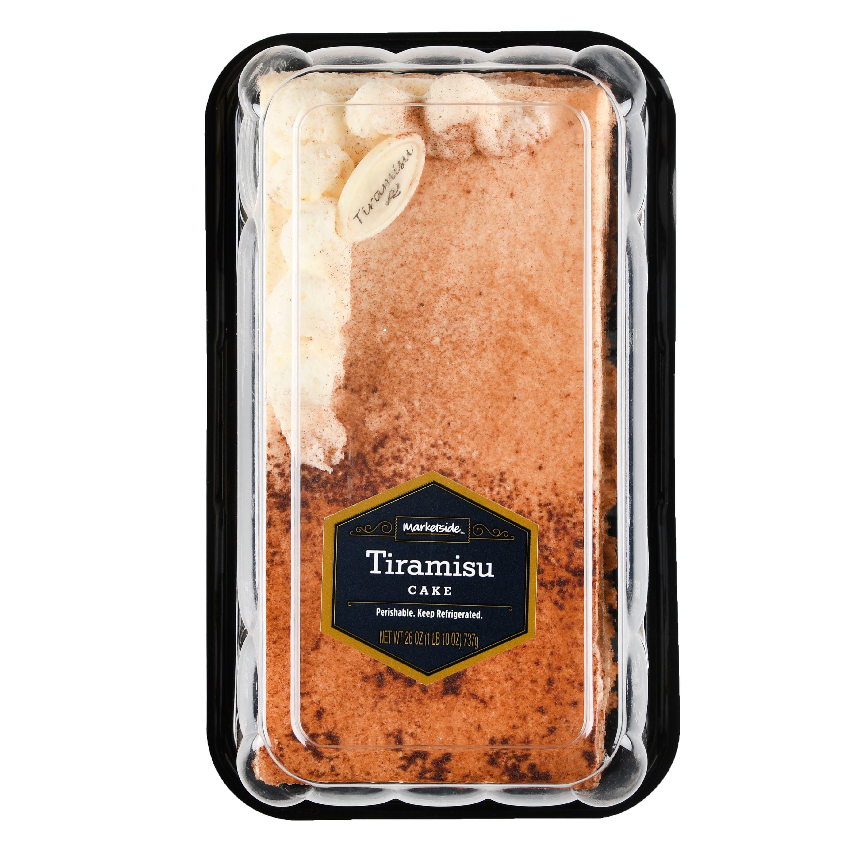 Marketside Tiramisu Cake, 26 oz - Walmart com