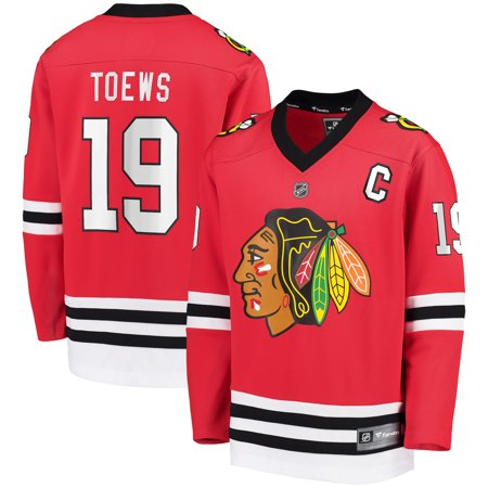 Jonathan Toews Chicago Blackhawks Fanatics Branded Youth Replica Player Jersey - Red (Blackhawks Toews Jersey)