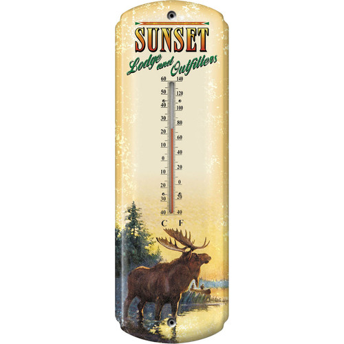 REP Moose/Lodge Thermometer    1351