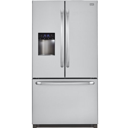 haier hrf24e3aps 36 french door 23 5 cu ft capacity refrigerator with adjustable glass spill. Black Bedroom Furniture Sets. Home Design Ideas