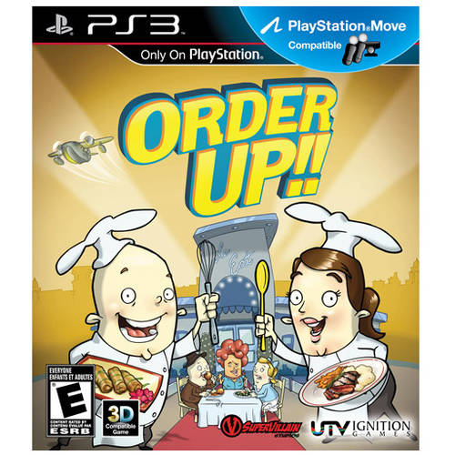Order Up! (PS3) - Pre-Owned