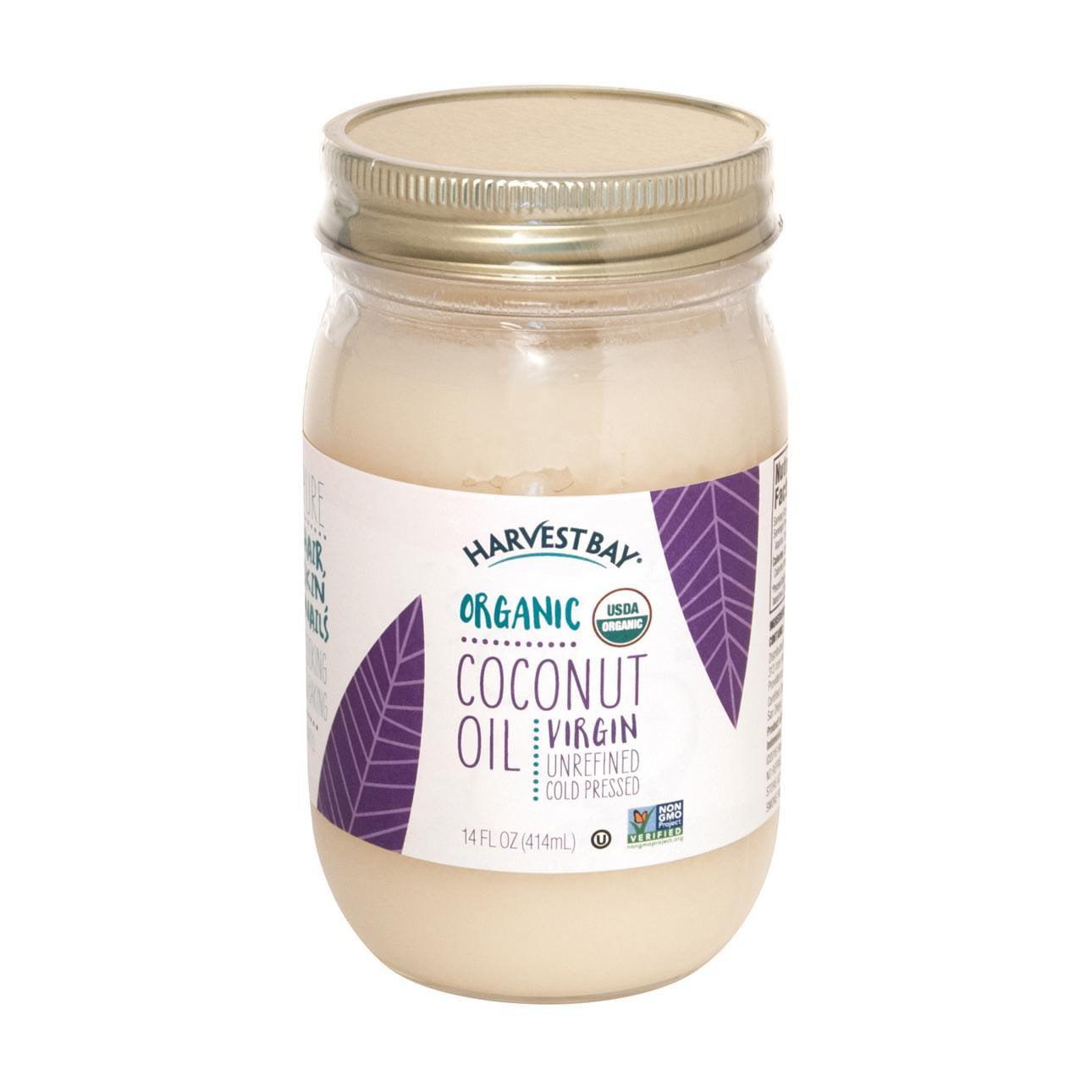 Harvest Bay Organic Coconut Oil - Extra Virgin Unrefined ...