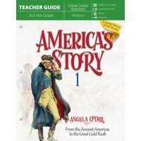 America's Story 1 (Teacher Guide): From the Ancient Americas to the Great Gold Rush (Paperback)