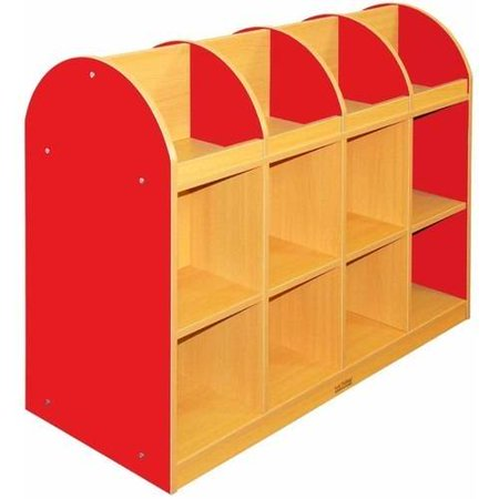 ECR4KIDS CE 2-Sided Standard Book Stand, Multiple Colors