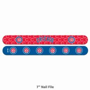 Worthy Nail File MLB Chicago Cubs