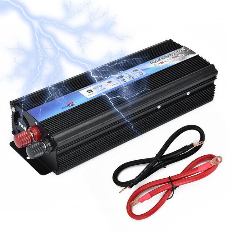 Power Inverter Pure Sine Wave Inverter 12V DC To AC 220V Auto