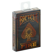 Best Bicycle Cards - 1 Deck Bicycle Fire Standard Poker Playing Cards Review