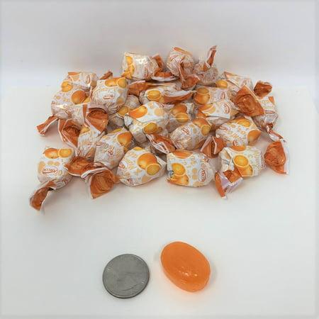 Arcor Orange Flavor Fruit Filled BonBons 2 pounds filled hard candy