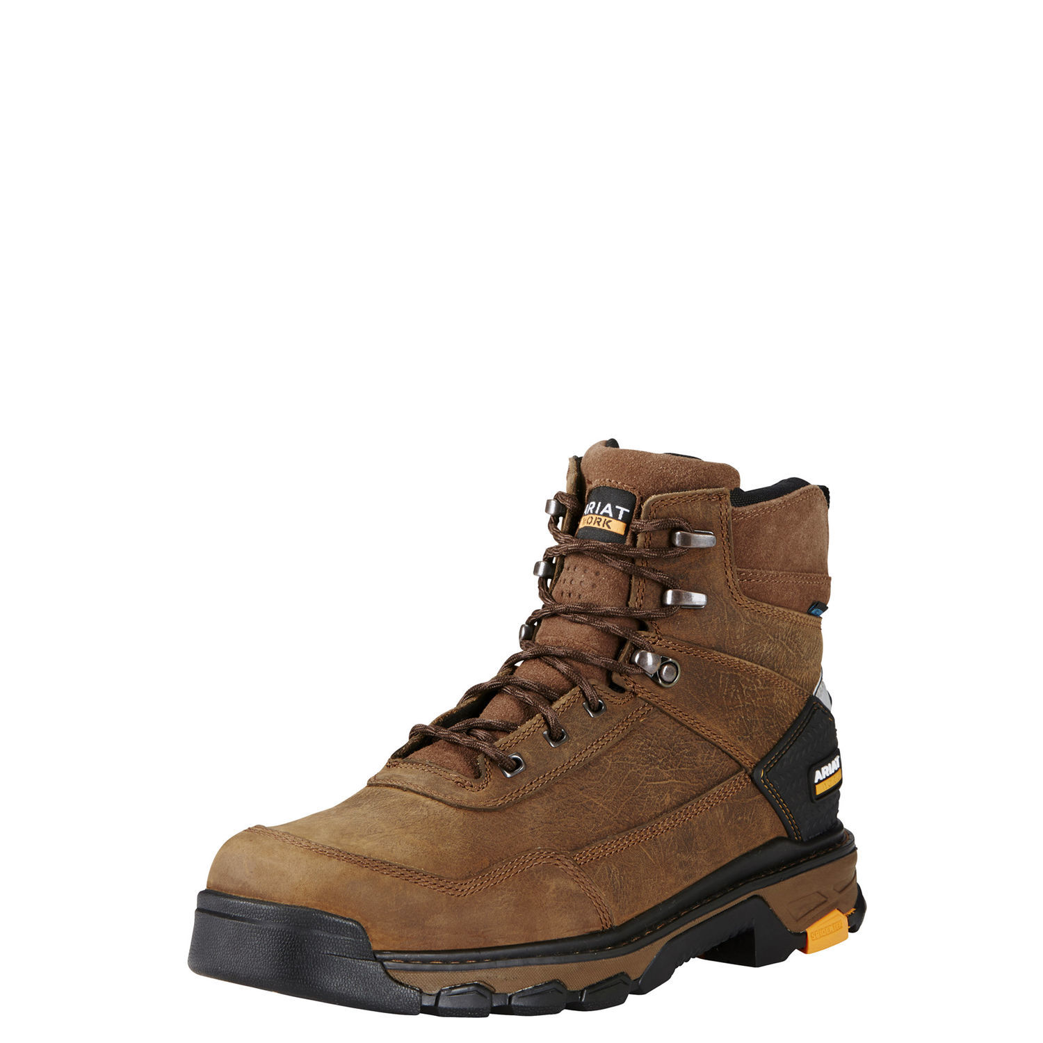 """Ariat 10020078 Intrepid 6"""" H2O 6"""" Lace Up Work Boot Waterproof Non-Slip EH Rated by"""