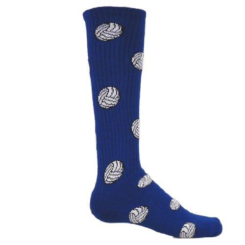 Red Lion Volleyball Socks Navy Blue - Medium
