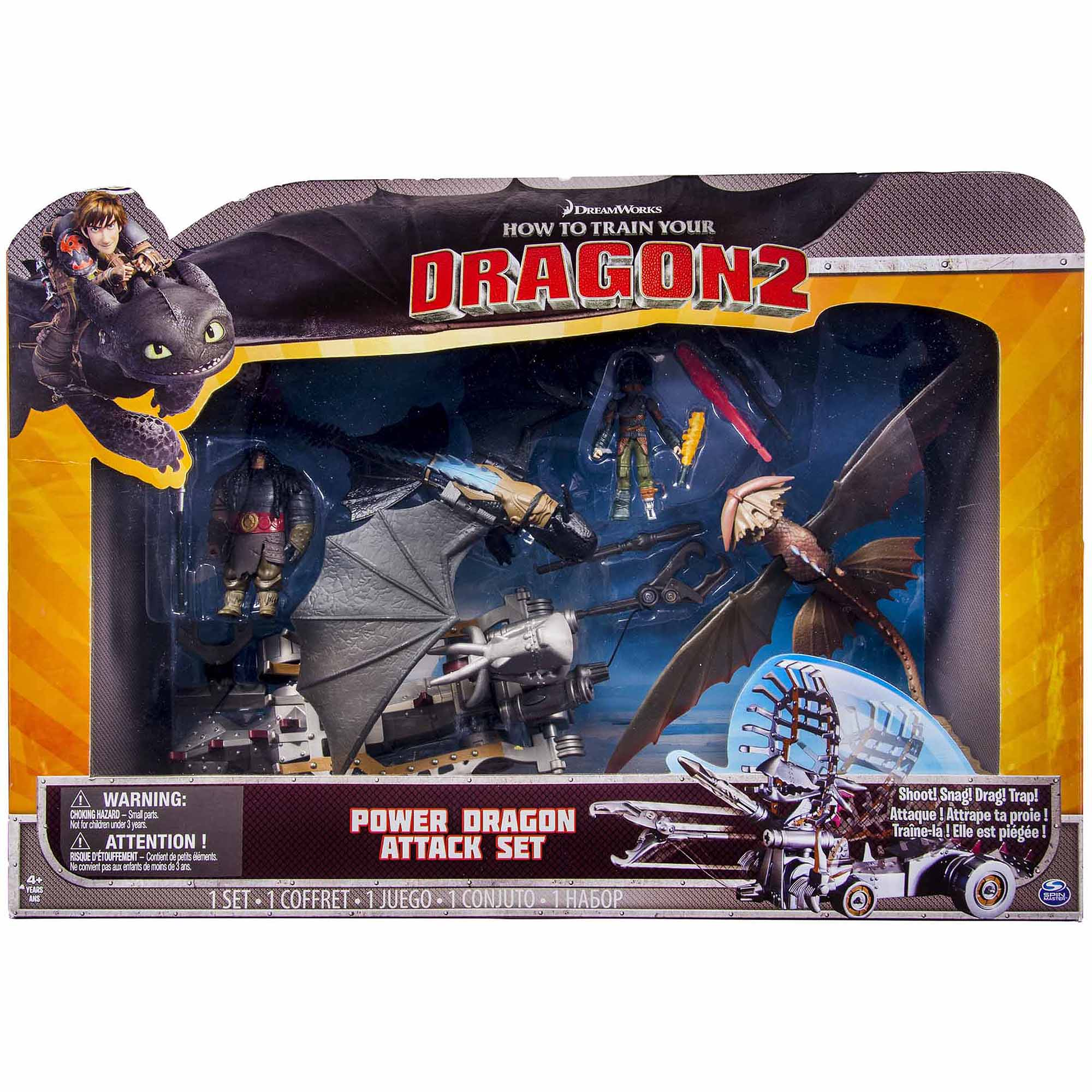 DreamWorks Dragons How To Train Your Dragon 2 Power Dragon Attack