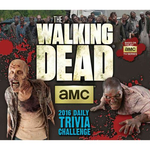 The Walking Dead Trivia Challenge 2016 Calendar
