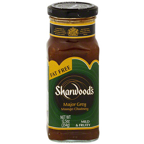 Sharwood's Major Grey Mango Mild & Fruity Chutney, 12.5 oz (Pack of 6)