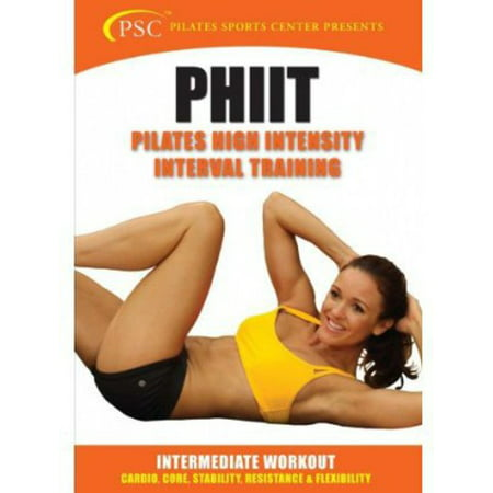 PILATES HIGH INTENSITY INTERVAL TRAINING-PHIIT (DVD)