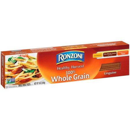 Ronzoni Healthy Harvest 100% Whole Grain Linguine Pasta 16 ...