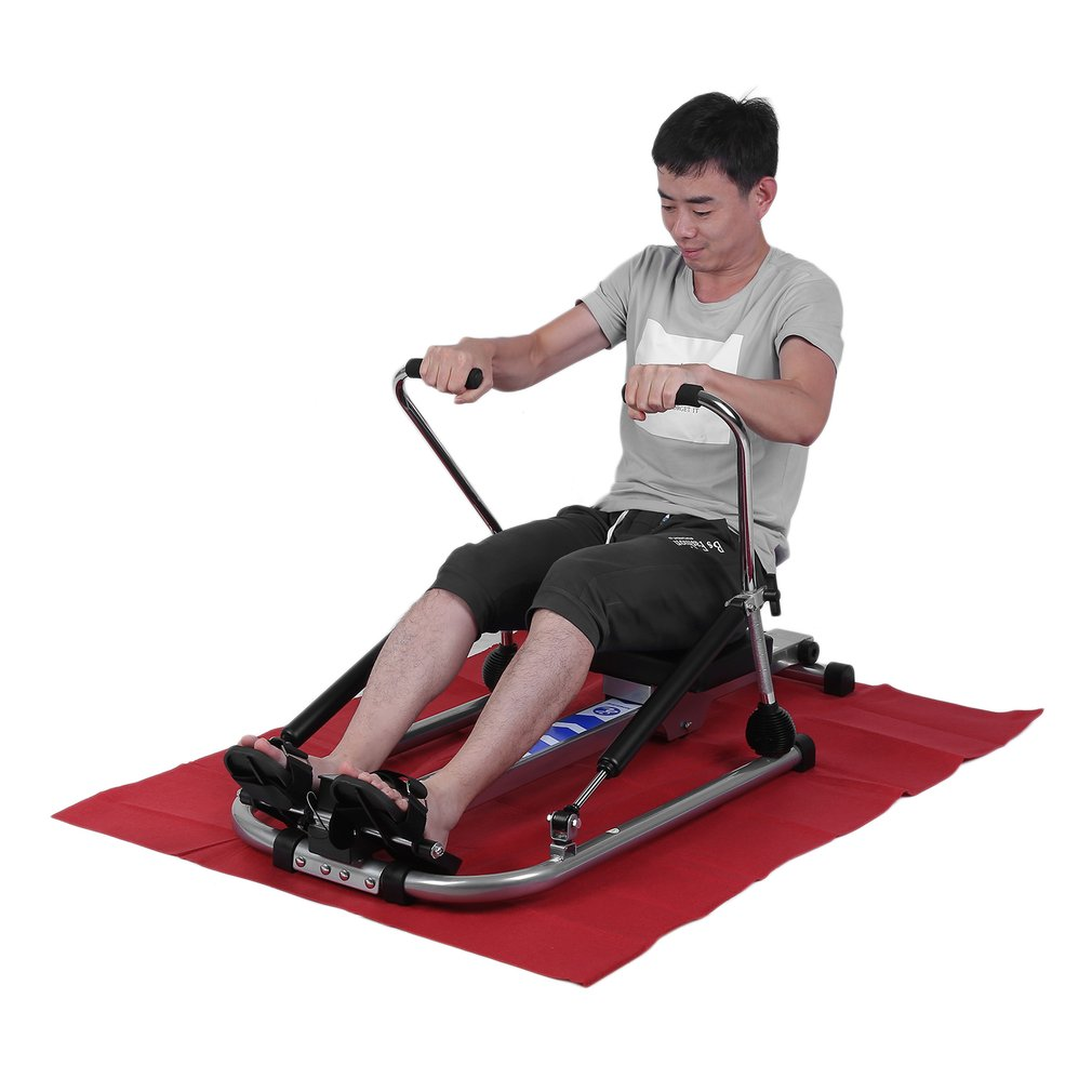 Multifunctional Body Glider Fitness Home Gym Training Exercise Abdominal Muscle Equipment Indoor Rowing Machine by