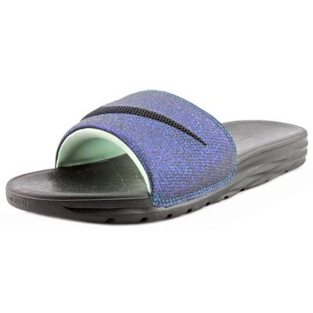 a0376e5c66c37 Nike - Nike Benassi Solarsoft Slide 2 Women US 10 Black Slides Sandal -  Walmart.com