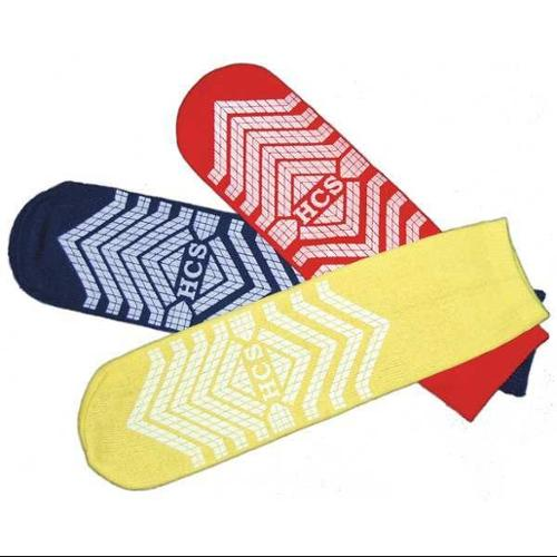 HCS HCS49YT Sock Slippers,Universal,Yellow,PR,PK48 G9403107