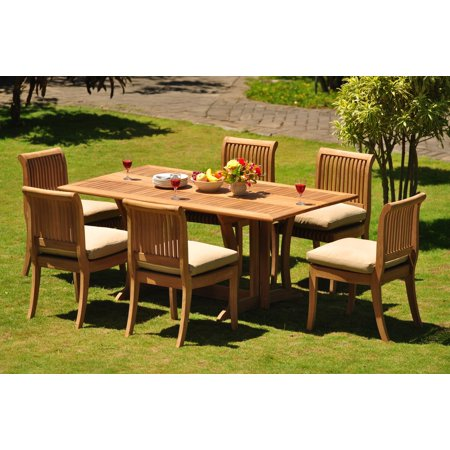 teak dining set 6 seater 7 pc 69 warwick dining rectangle table and