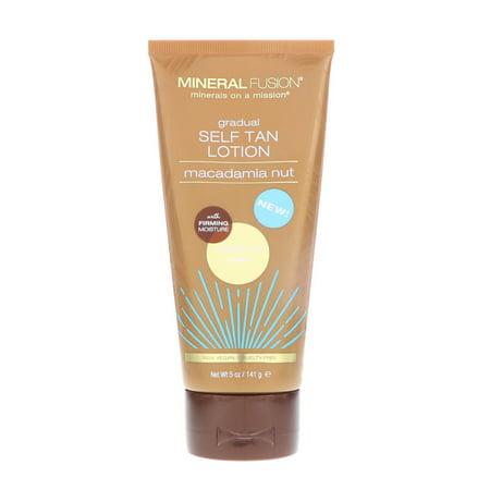 - Mineral Fusion  Gradual Self Tan Lotion  Medium Dark  Macadamia Nut   5 oz  141 g