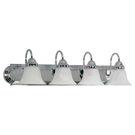 Nuvo Lighting  60/318  Bathroom Fixtures  Ballerina  Indoor Lighting  Vanity Light  ;Polished Chrome