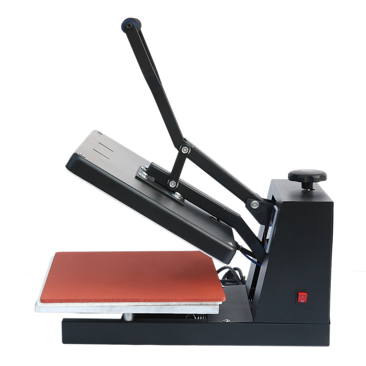 Electronic Automatic Magnetic Drawer High Pressure Heat Press Machine T-shirt Hot Transfer Machine 3838cm