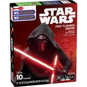Star Wars Fruit Snacks 10 pouches