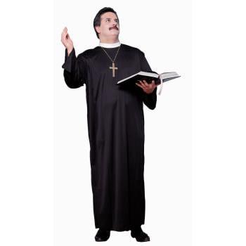 COSTUME-ADULT PRIEST X-LARGE - Priests Costumes