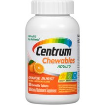 Multivitamins: Centrum Chewables