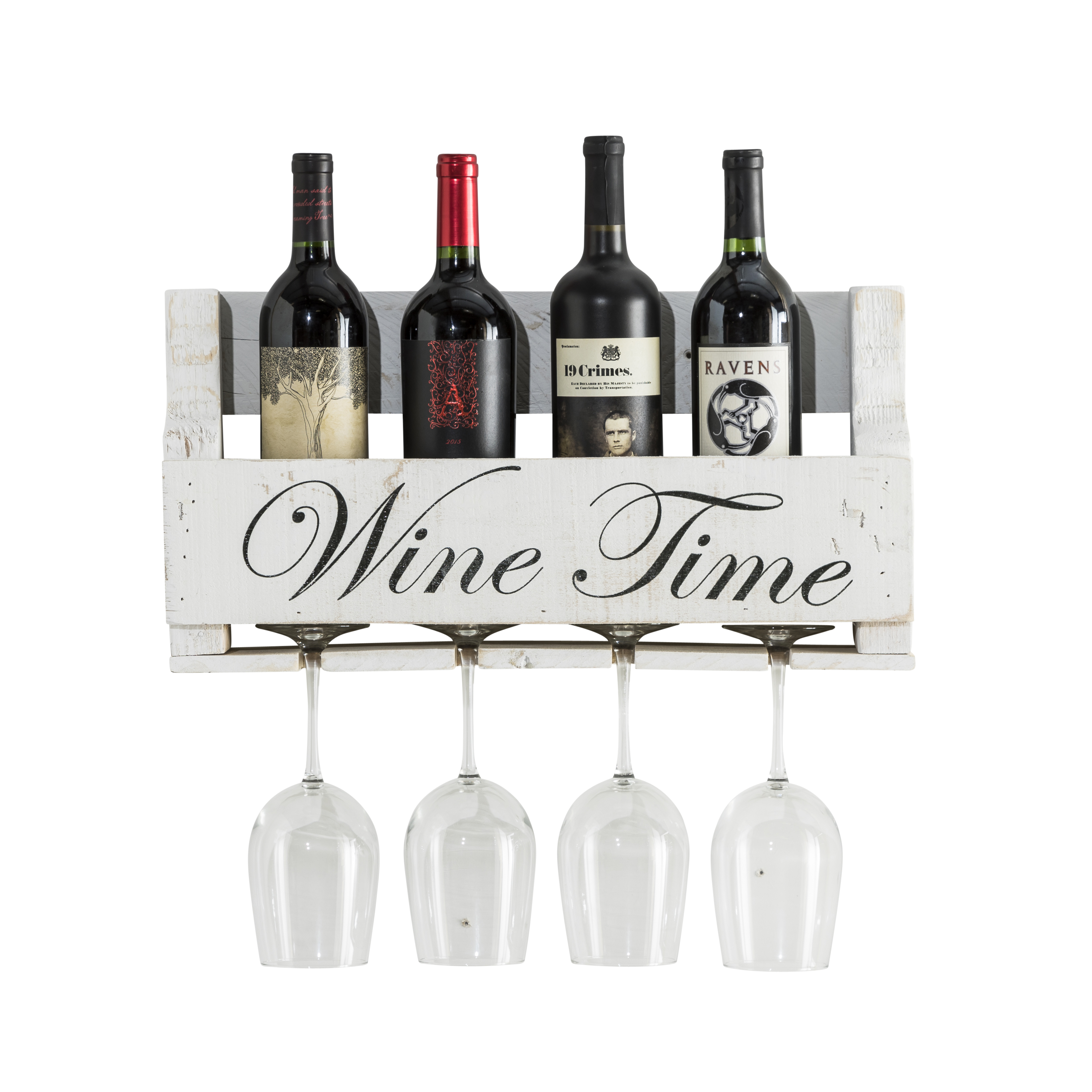 Wine Quote Little Elm Collection, Always Be, Walnut