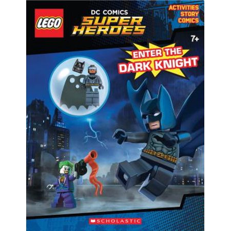 Enter the Dark Knight (Lego DC Comics Super Heroes: Activity Book with Minifigure) - Comic Book Superhero