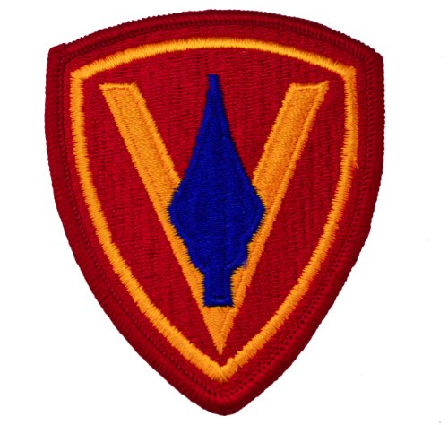 5th Marine Division United States Marine Corps Embroidered Shoulder Patch
