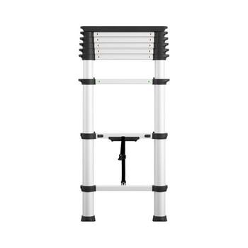 Cosco 8.5 Ft SmartClose Aluminum Telescoping Ladder with Tray Cap