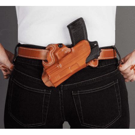 DESANTIS Sob Small Of Back Belt Holster Gun Fit: Glock 17 Hand: Right Handed Color: (Best Small Of Back Holster For Glock 19)