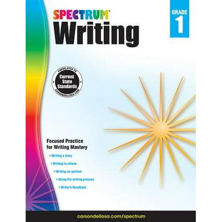 Spectrum Writing, Grade 1 - Halloween Story Writing First Grade