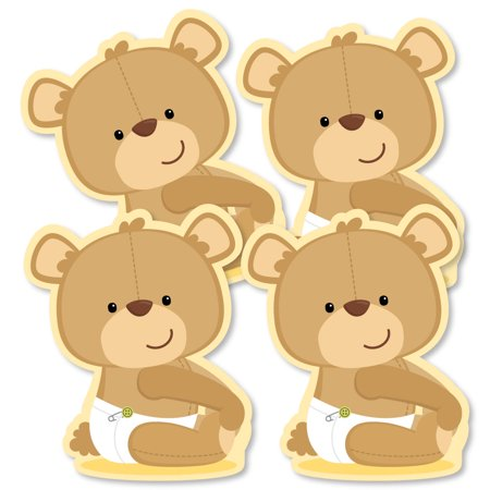 Baby Teddy Bear - Decorations DIY Baby Shower Party Essentials - Set of 20 - Bears Decorations