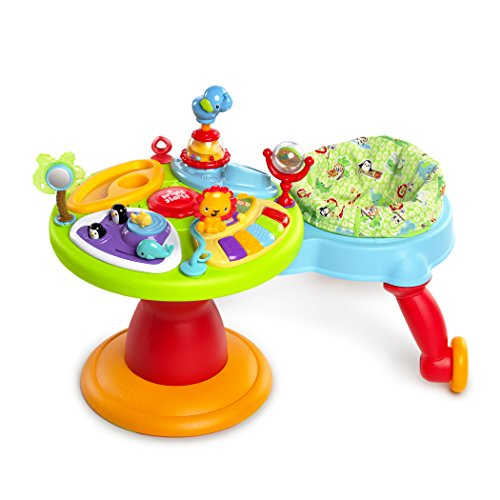 Bright Starts Around We Go 3-in-1 Activity Center Zippity Zoo by Bright Starts