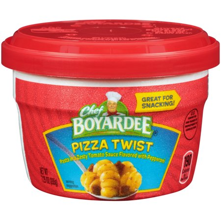 Chef Boyardee Pizza Twist Pasta Microwave Cup 7 25 Oz