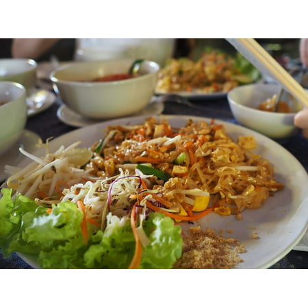 LAMINATED POSTER Lunch Thai Food Food Poster Print 24 x 36 ()