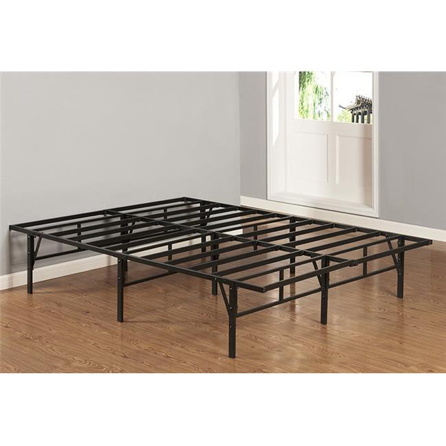 B1039f Full Size Platform Bed Frame Walmart Com