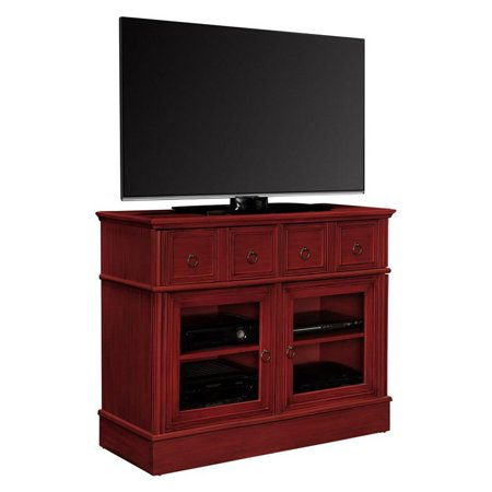 Altra Furniture Ryder Apothecary Tv Console Red