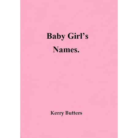 Baby Name Book (Baby Girl's Names. - eBook )