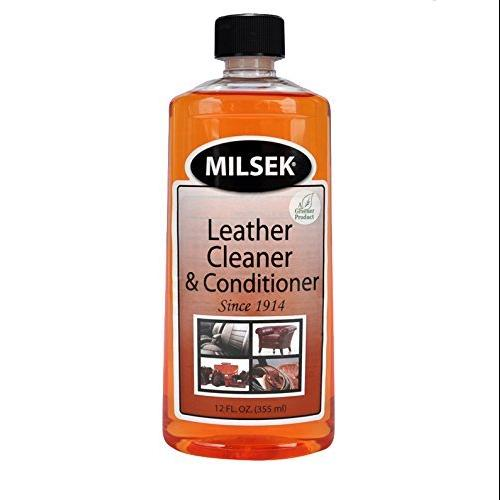 Milsek Leather Cleaner & Conditioner with Real Mandarin