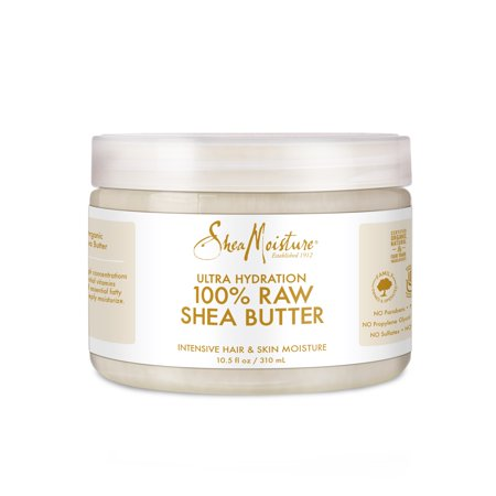 Shea Moisture 100% Pure Raw Shea Butter, 10.5 oz (Best Shea Butter Products)