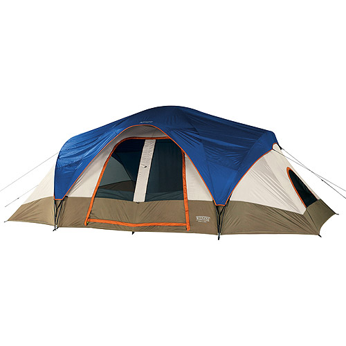Wenzel Great Basin Blue and Taupe 8-Person Tent, ,18' x 10'