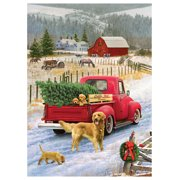 Cobble Hill: Christmas on the Farm 1000 Piece Jigsaw Puzzle Christmas on the Farm