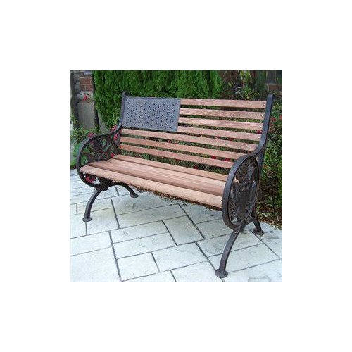 Oakland Living 6011 Proud American Bench by Oakland Living